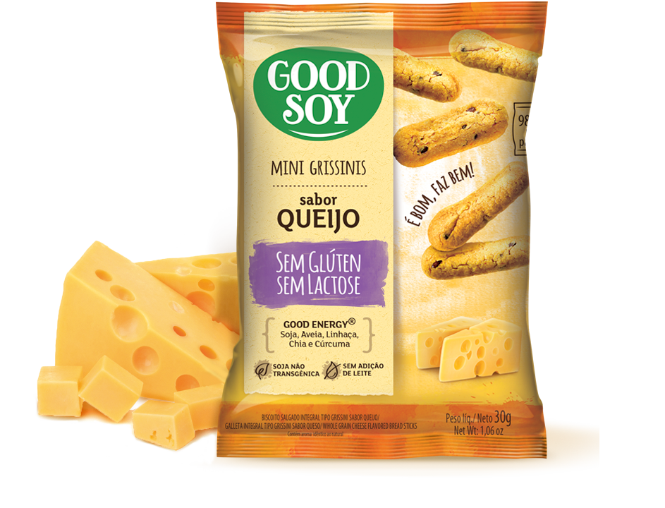 Good Soy Grissinis Queijo
