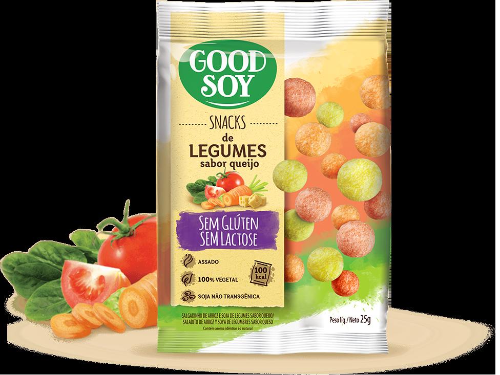 Good Soy Legumes ao Queijo
